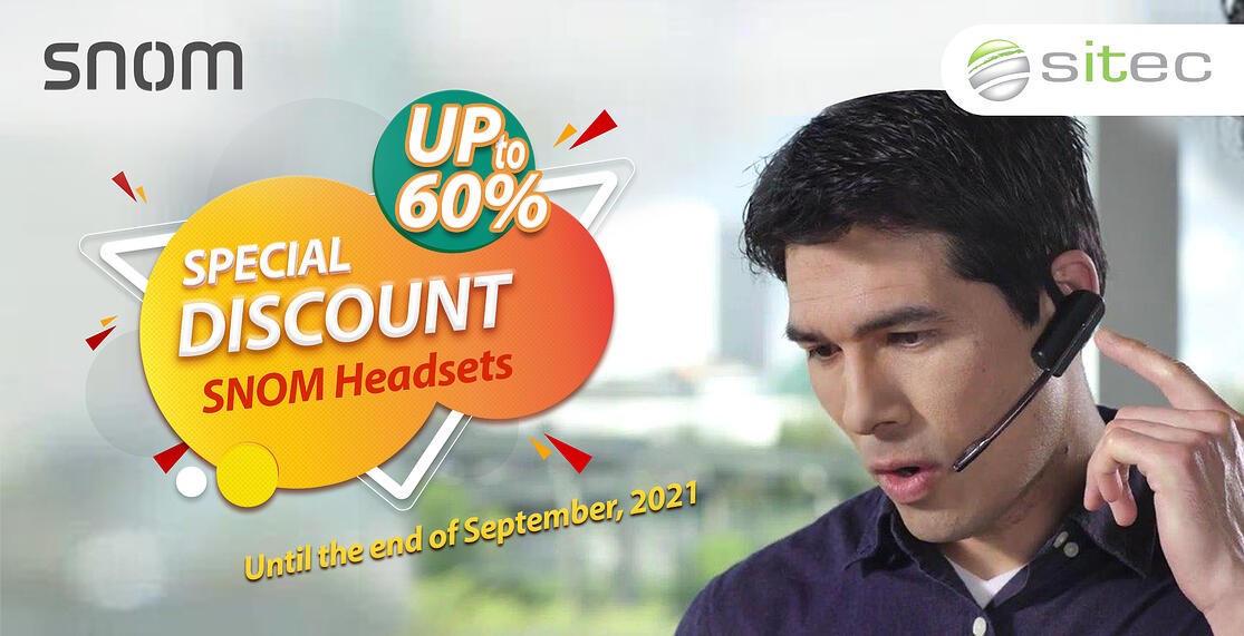 Headset promotion till end of september 2021 (600)